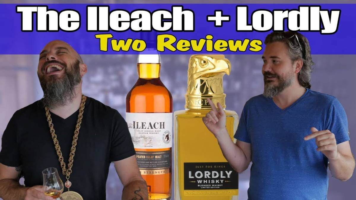 The Ileach Cask Strength VS Lordly Whisky 14