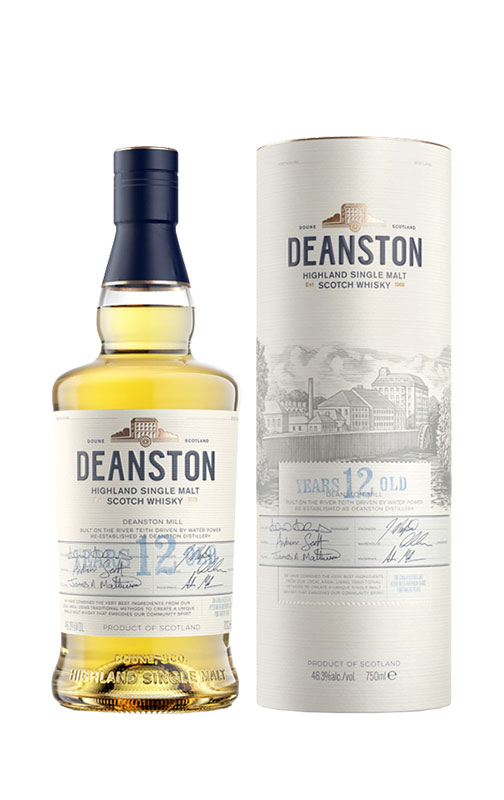 Deanston 12 Year Old Single Malt Scotch Whisky 2