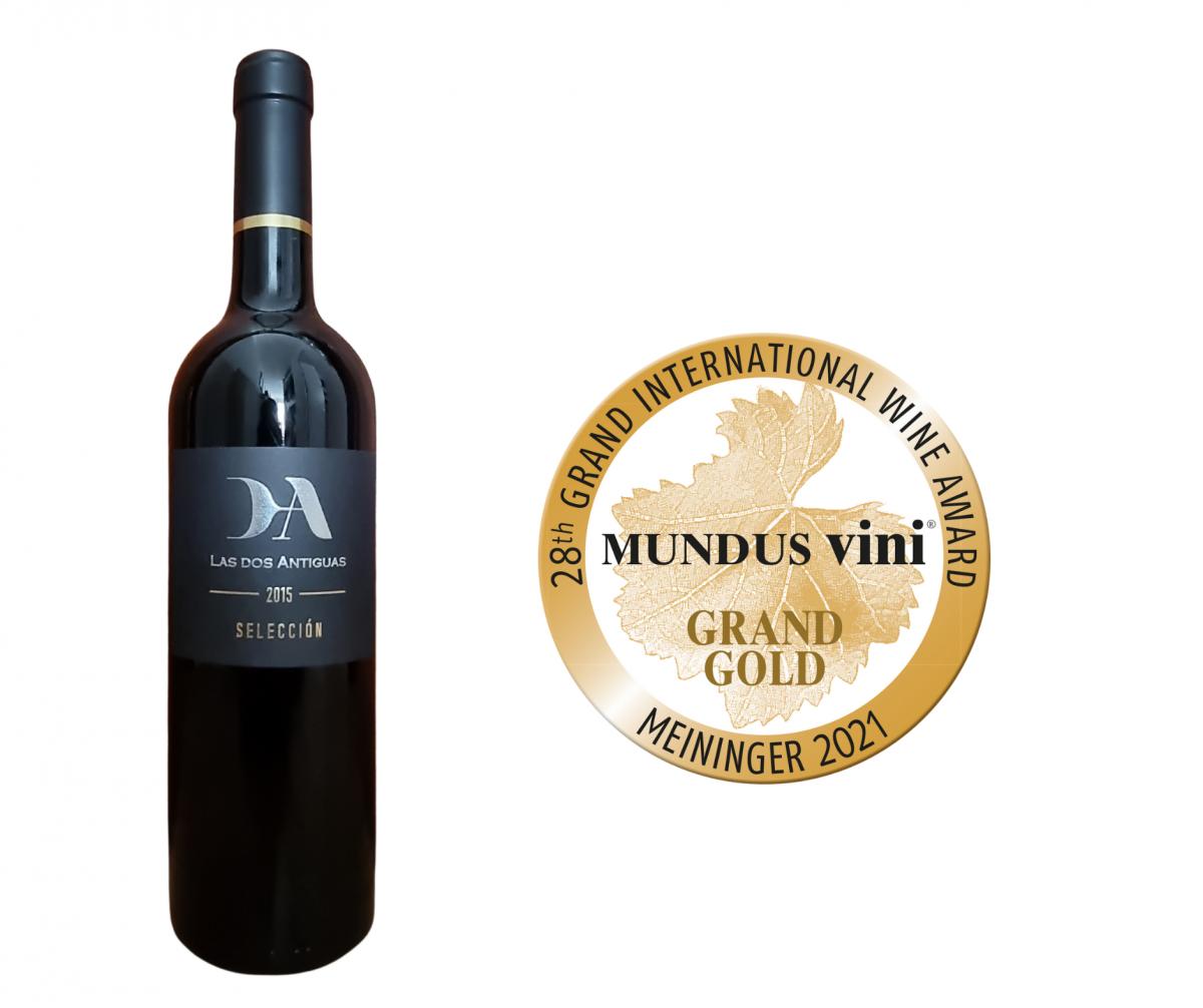 los vinos más prestigiosos del mundo: Gran Oro' de Mundus Vini 2021 2