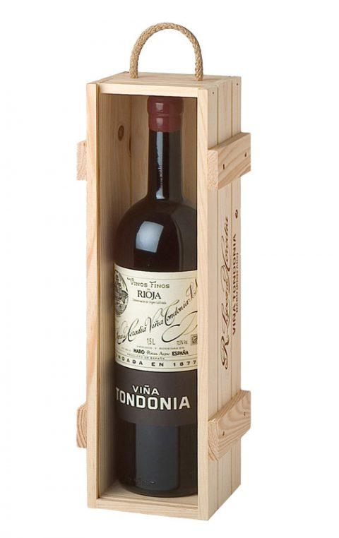 Estuche Viña Tondonia Tinto Reserva 2008 Magnum 50