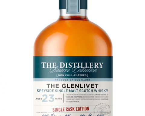 single malt scotch whisky: The Glenlivet 23 Y.O. Single Cask Edition Butt 23