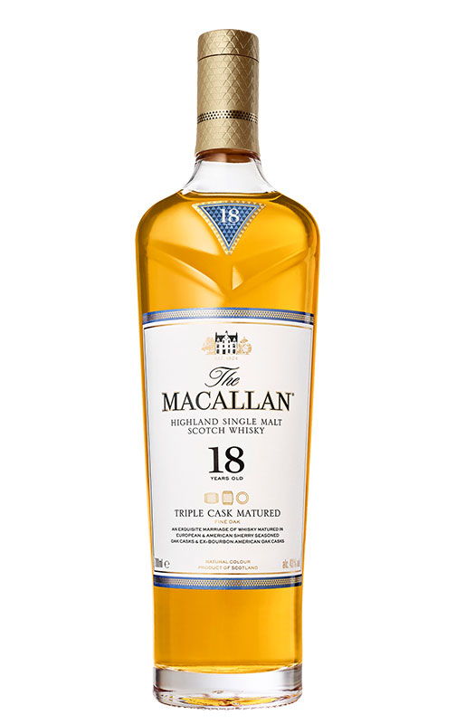 comprar whisky single malt marcas: The Macallan Triple Cask Matured 18 Years Old 2
